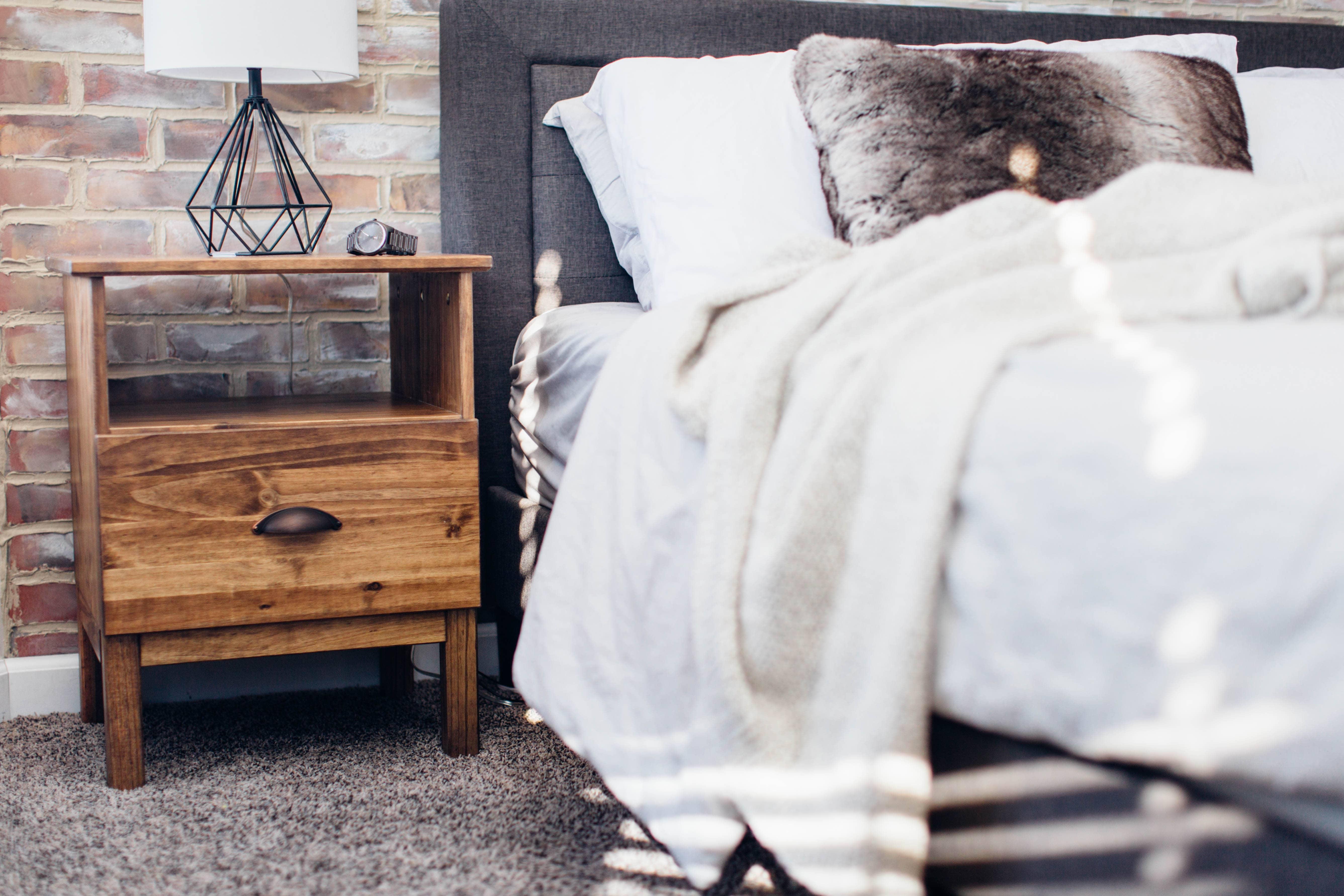 Simple Ikea Tarva Nightstand Hack Sammy On State