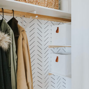 Diy Wall Mounted Clothing Rack Sammy On State